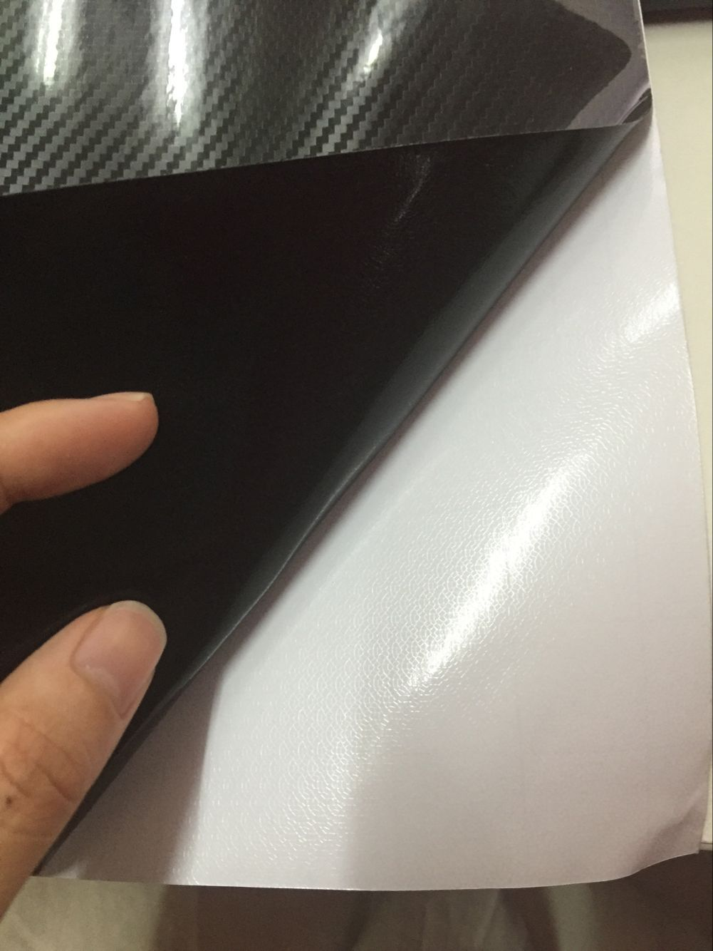 Car Whole Body Sticker Glossy Black 5D Carbon Fiber Vinyl Carbon Fiber Hood Vent