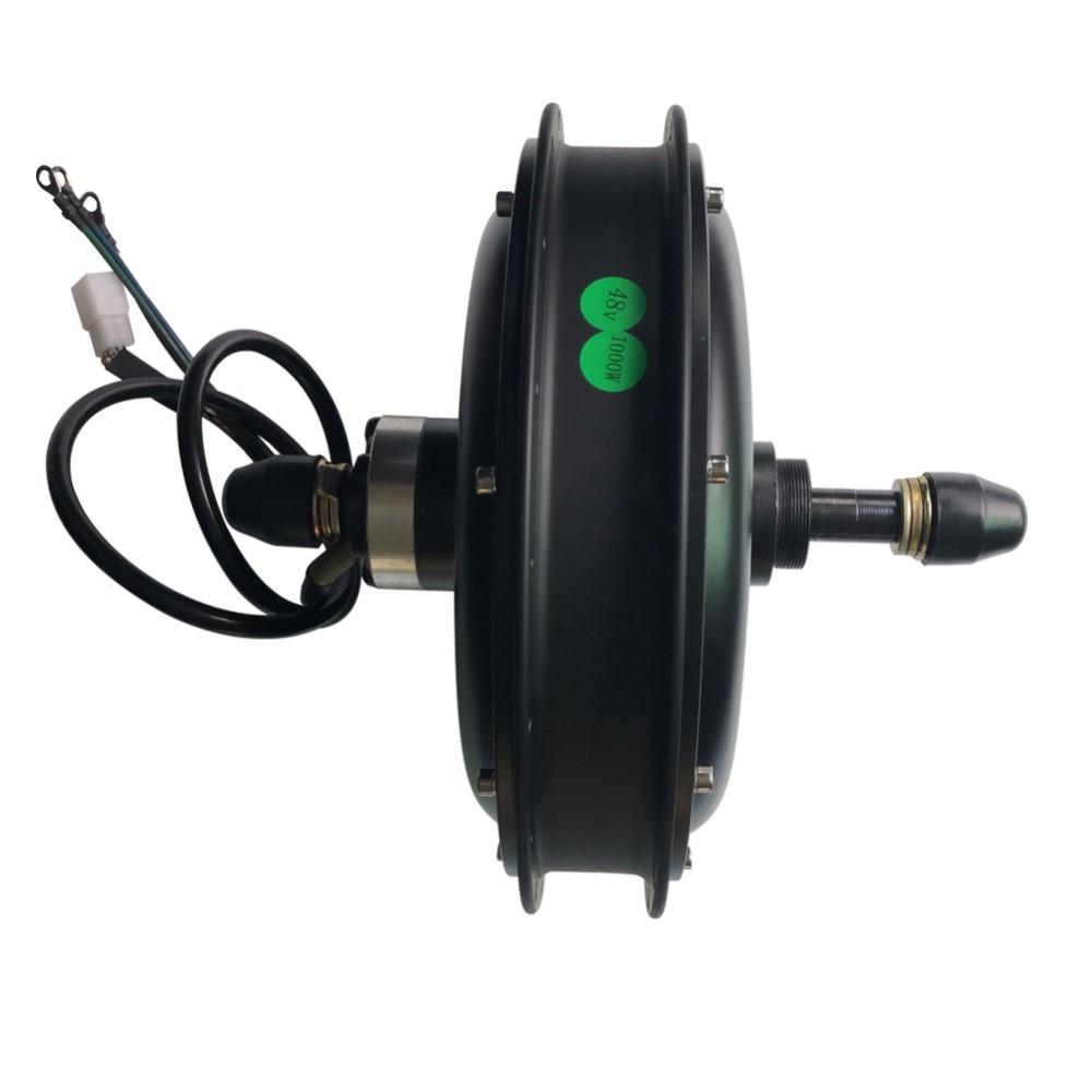 48V 1500W Brushless Gearless DC Hub Motor 3200 RPM For Electric Bike Waterproof