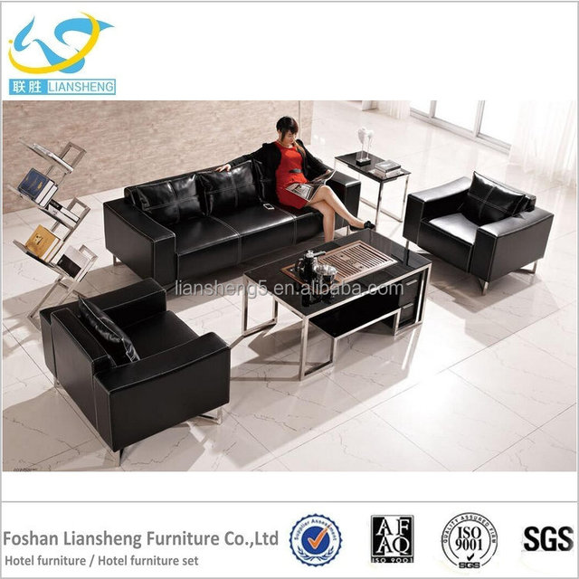 new model leather sofa set sectional office used sofa : office sectional - Sectionals, Sofas & Couches