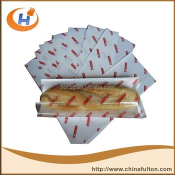 custom printed wax paper
