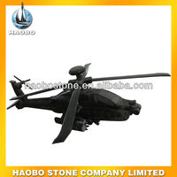 Haobo Toys Airplane Sculpture Helicopter Carvings