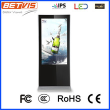 reliable and stable Slim double screens lcd advertising digital signage display