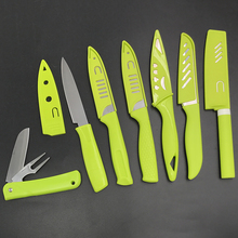 Folding Multi-function Stainless Steel Fruit Knife with PP Handle