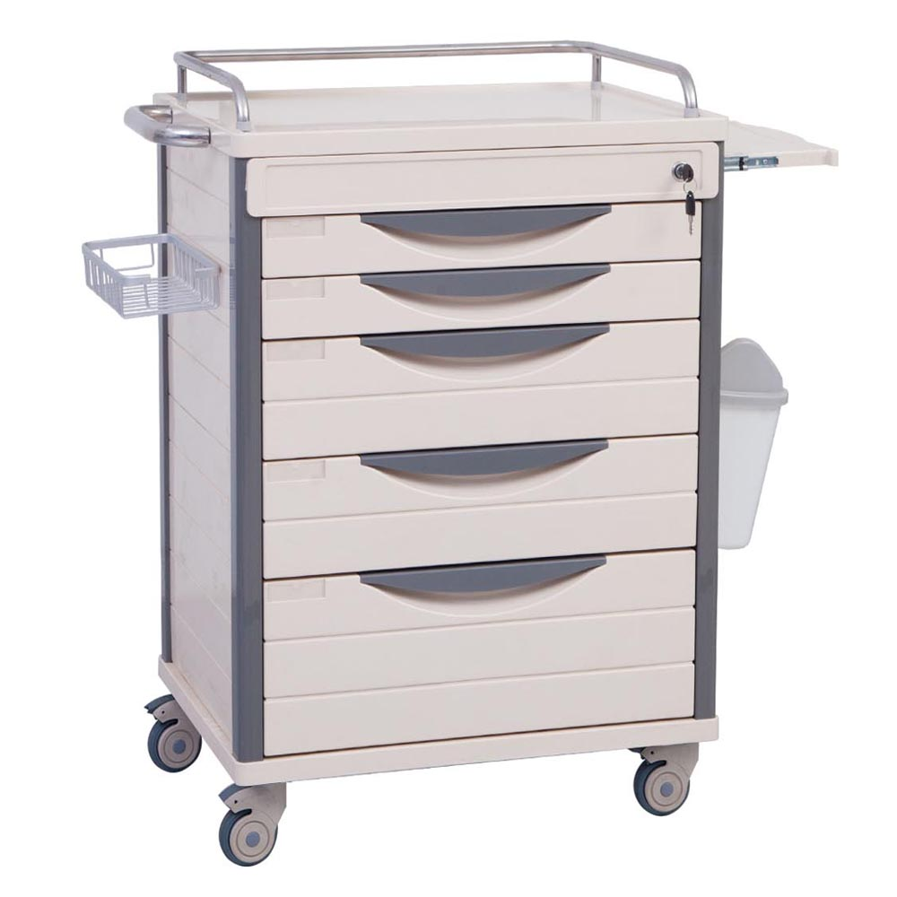 cheap new product abs medicine surgical nursing treatment trolley cart for sale