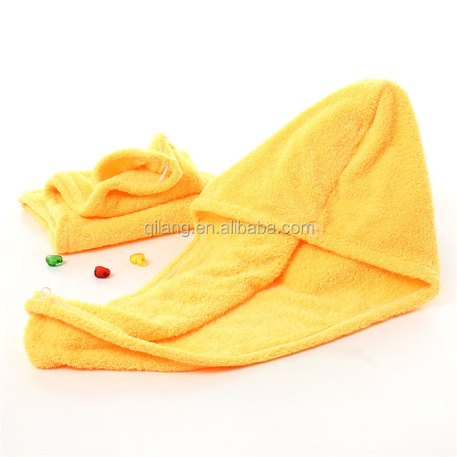 Promotion Microfiber Hair Drying Towel Turban Towels Wrap
