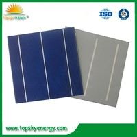 Silicon wafer for solar cell producing solar panel