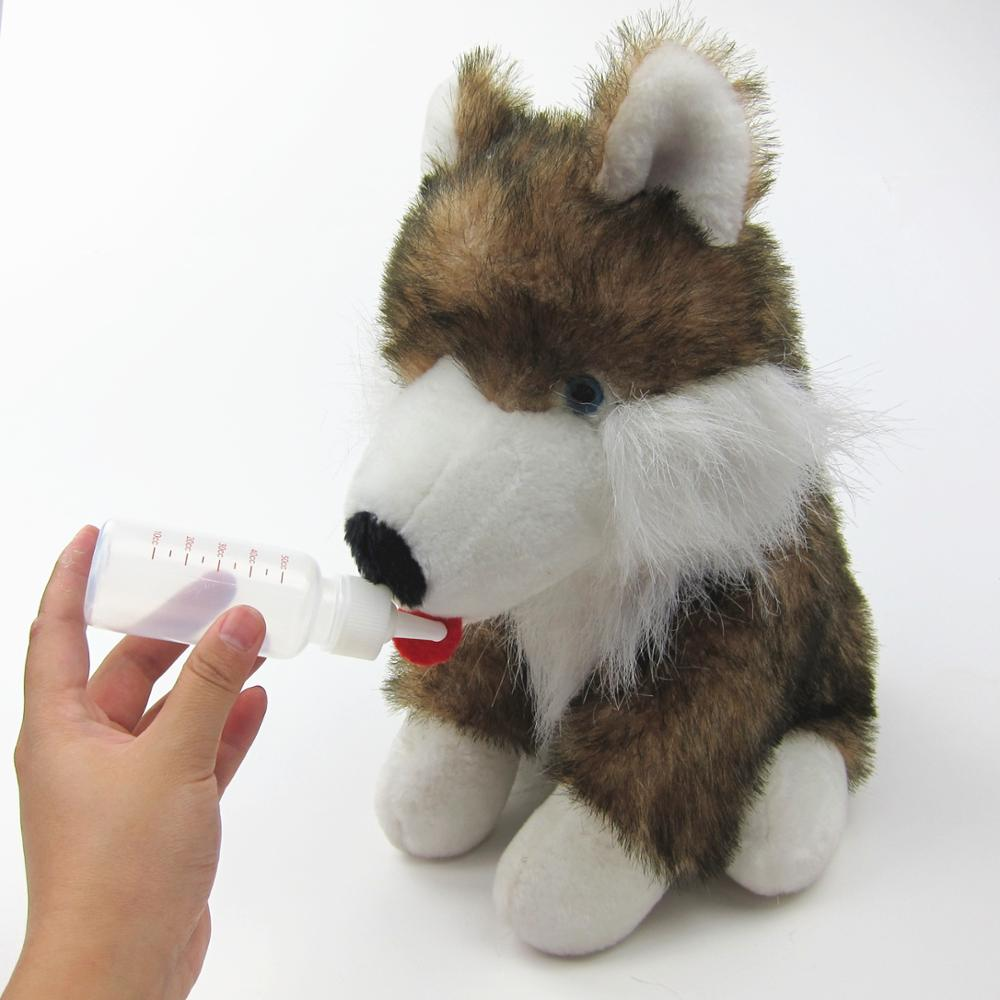 Puppy Feeding Bottle Cat Milk Feeder With Brush Dog Pet Nursing Bottle