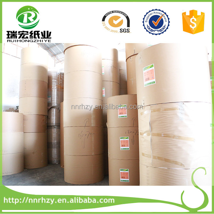 100% Quality Guaranteed jumbo single sided pe coated paper roll