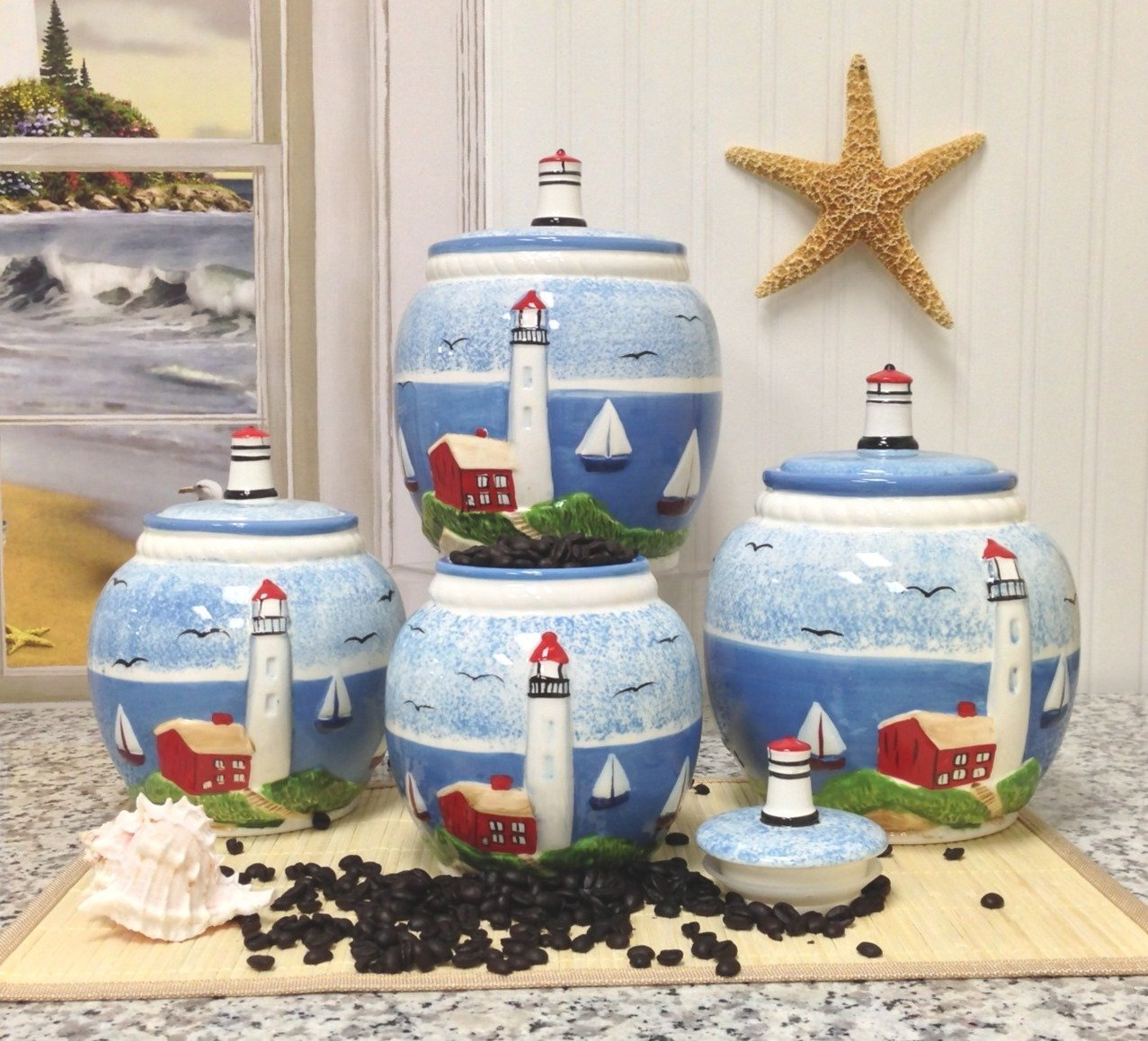 Cheap Lighthouse Canister Set Find Lighthouse Canister Set Deals On