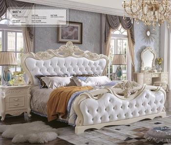 Pakistan Antique Fancy White Vintage Bedroom Sets Bedroom Furniture