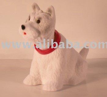bobblehead dog figure west highland terrier small white buy