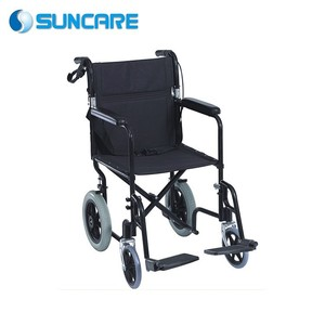 Spray Steel frame foldable manual power wheelchair for Cheap price