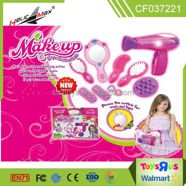 10pcs Battery Operated Pretend Play Electric Hair Dryer Toy Barber ...
