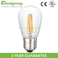 Led bulb manufacturing decoration light ST45-4 led smart lighting with long filament E26 energy saving light