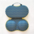 Fancy Small Dot Portable Protect Bra Bag Underwear with Net Bra Case Bra Organizer for Travel