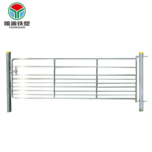 Hot dipped galvanized sheet cattle metal farm garden fence panels for sale