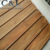 natural raw unfinished waterproof Burma teak solid wood outdoor decking