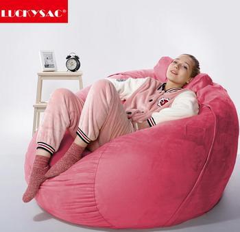 Hot Pink Comfortable Lazy Boy Lounger Beanbag Chair