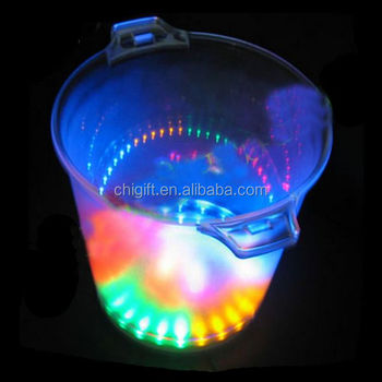 Wholesale Party Cooler LED Belvedere Ice Bucket