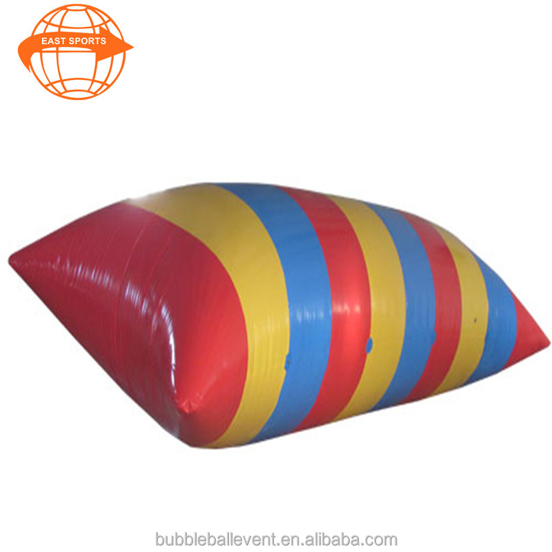 Inflatable Water Blob,Inflatable Water Catapult Blob Jump,Inflatable Body Launcher