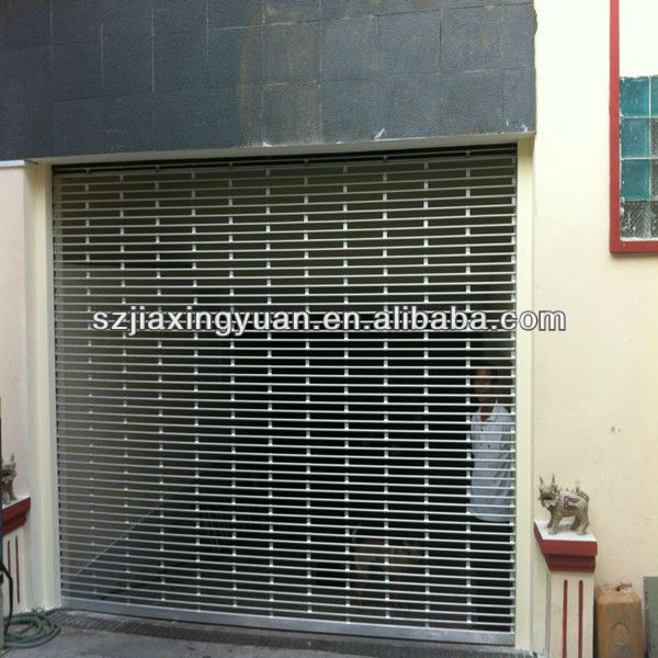 Modern Perforated Electric Metal Roll up Door