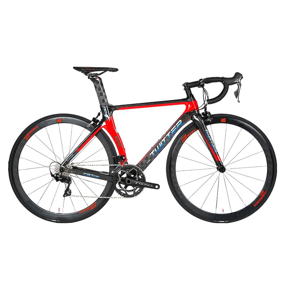 China supplier cheap price 50-58cm bicicleta carbono carbon road bike, Blackred / black / red / ti / yellow / blue