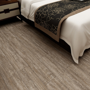 Affordable easy click woven loose lay pvc vinyl flooring