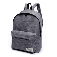 Fashion Men Women College High Middle Laptop Travel Waterproof Sport Canvas Rucksack