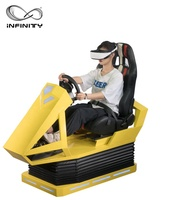 Good price 9D VR Racing Car Simulator with Exciting VR Racing Game high profit Vr Racing Equipment