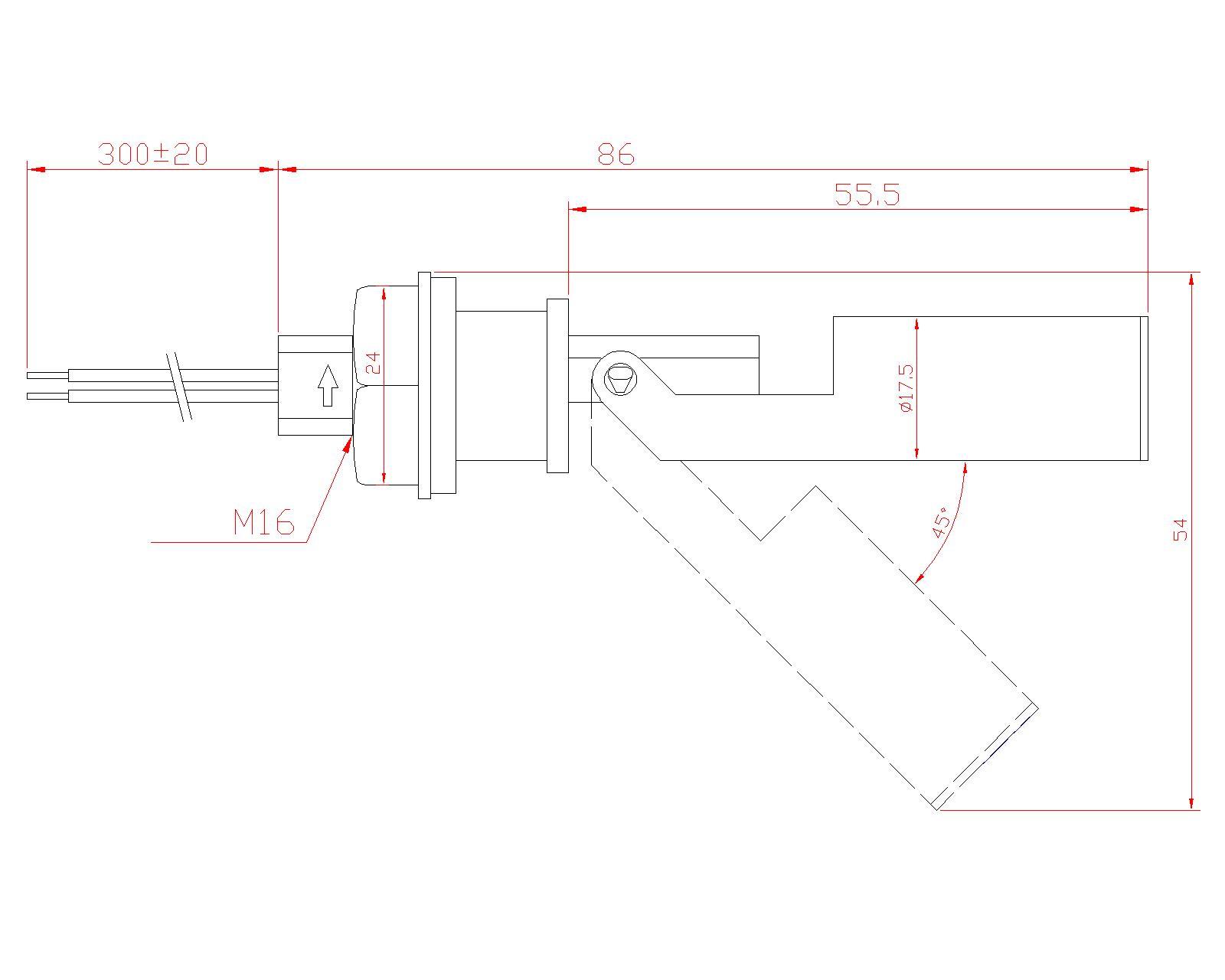 5c Sensor Water Float Level Switch Magnetic Level Sensor 5cfs-yz-4 - Buy  Float Level Switch,Water Level Sensor Product on Alibaba com