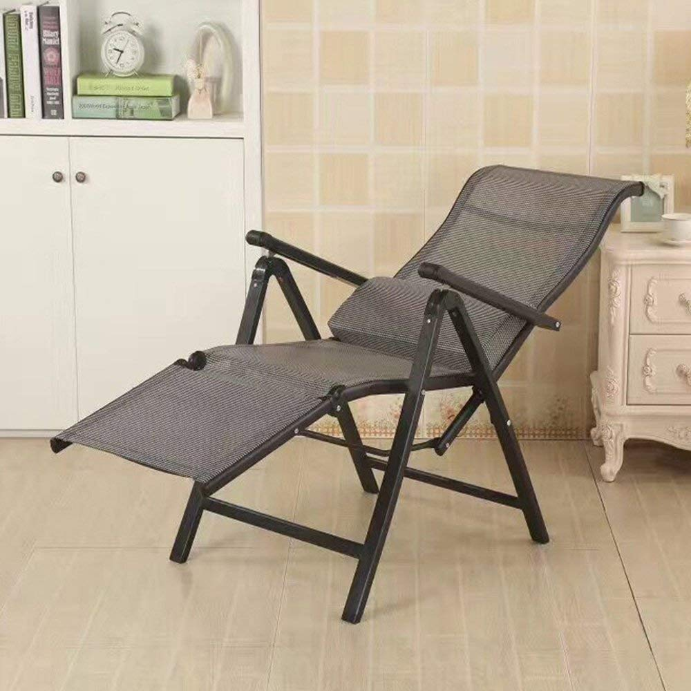 Rocking Chairs MEIDUO Adjustable Office Chair Computer Chair Conference Chair Household Ergonomic Lounge Chair Lunch Break Folding Chair (Color : 1003)
