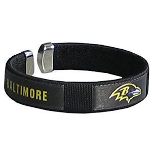 NFL Baltimore Ravens Fan Band Bracelet