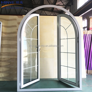 Cheap Price Aluminum Doors Used Commercial Exterior Steel/Aluminum Casement Doors With Fly Screen