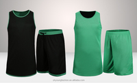 Custom top qualtiy dry fit basketball uniforms made in China