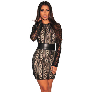 3eb763b9b33 Nude Lace Dress