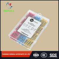 BHT1.25/BHT2/BHT5 18AWG-22AWG 16-14AWG 12-10 AWG Kit Wire electrical Insulated Heat Shrink Butt Connectors