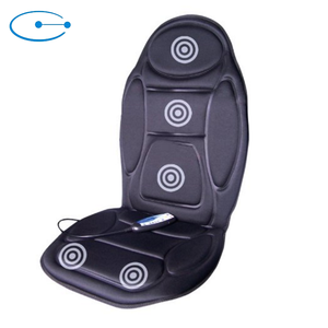 5 Motor Rechargeable Home And Car Seat Electric Vibrate Back Butt Massage Cushion With Heat