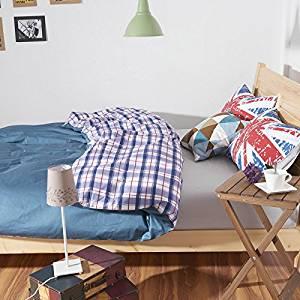 Chelsea Blue Bedding Teen Bedding Kids Bedding Dorm Bedding Gift Idea, Queen Size