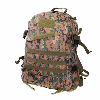 e7f0bd959e51 Big 40l Woodland Digital Military Backpack