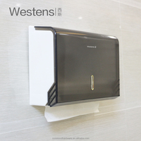 Commercial Bathroom Wall Mounted Z Fold Hand Paper Towel Dispenser w-611