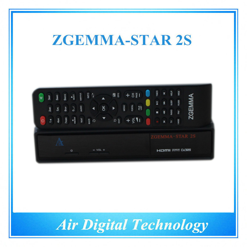 Hd Satellite Stb Zgemma-star 2s Original Linux Os Enigma2 Dvb-s2+s2 Twin  Tuners - Buy Air Digital Linux Os Iptv Box,Zgemma Star 2s Digital Satellite
