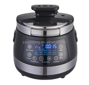 2017 Brand-new design smart touch control 16 in 1 multi-function one button releasing pressure cooker