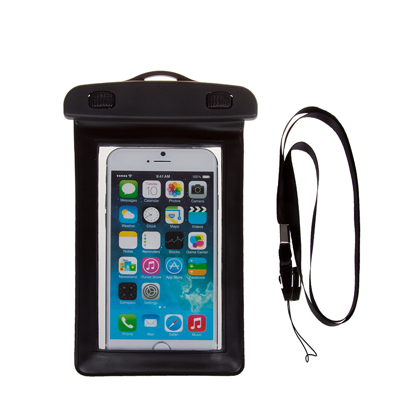 Ipx8 Smart Phone Waterproof Bag For Cell Pvc Water Resistant Mobile