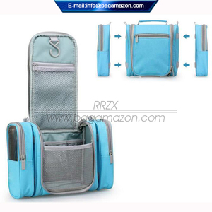 Factory Custom Detachable Hanging Toiletry Bag Large Cosmetic Organizer Travel Bag