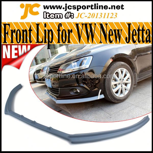 High Quality FiberGlass Jetta Front Lip For Volkswagen New Jetta /Sagitar Standard Bumper