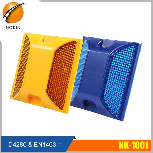 Colorful ABS singal-side/ double sides reflective solar road stud
