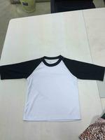 2017 kids children blank raglan t shirt wholesale