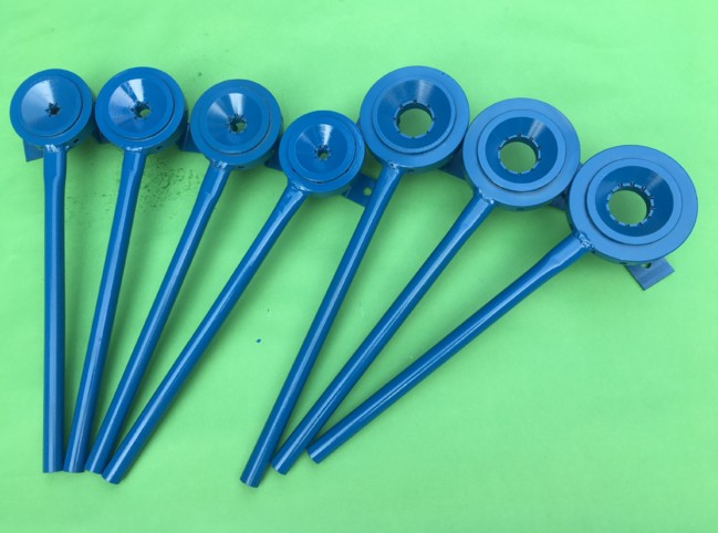 blue color E40 lamp base crimping hand tool with 12 needles