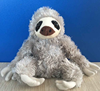 Wholesale Plush Toy Maned sloth / stuffed wild animal /sloth stuffed plush toy
