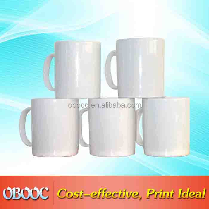 Mini size cheap ceramic coffee mug with big handle